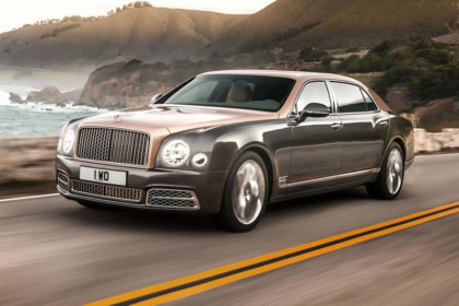 Reclama Bentley: Noul model Mulsanne
