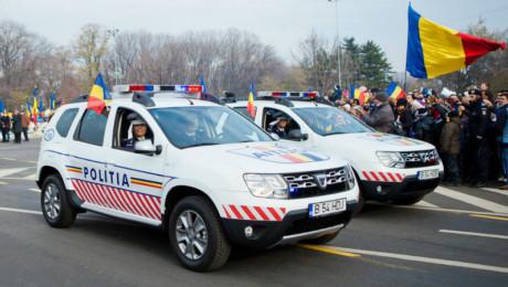 Politia Romana are noi masini in dotare