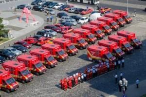 26 de autospeciale noi pentru ISU