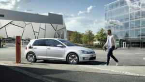Volkswagen e-Golf electric
