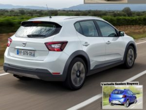 Noua Dacia Sandero 2019! Au aparut primele imagini.