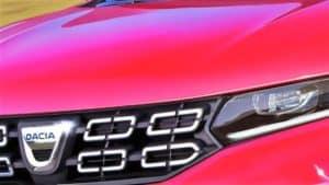 Prima masina electrica Dacia !