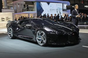 16,7 milioane de euro. Bugatti La Voiture Noir, cea mai scumpa masina din lume.