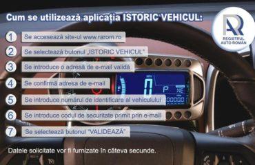 """RAR a lansat aplicatia """"Istoric Vehicul"""". Aplicatia lansata este gratuita."""