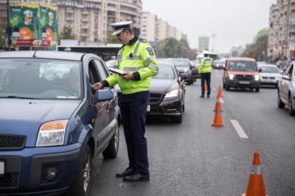 Șoferii pot plăti amenda direct politistului constatator!