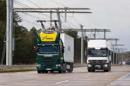 S-a deschis prima autostrada electrificata din Germania! VIDEO!