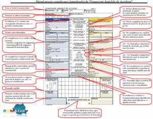 Constatare amiabila in caz de accident - sfaturi pentru completare formular