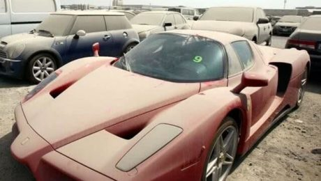 DUBAI! Locul în care mii de mașini de lux sunt abandonate de proprietari. VIDEO!