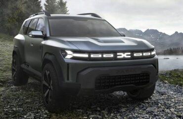 Cum arată BIGSTER, viitorul SUV compact de la Dacia. POZE!