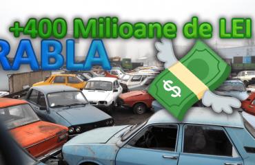 Bugetele programelor Rabla vor fi suplimentate cu 400 de milioane de lei