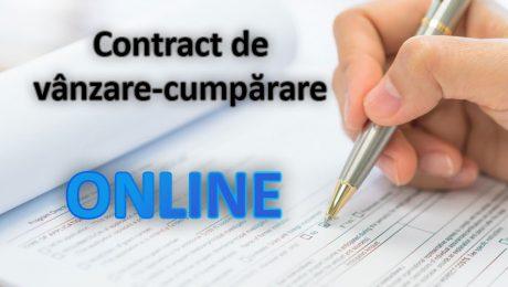Contractul de vânzare-cumpărare al mașinilor va putea fi încheiat online