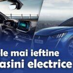 Cele mai ieftine masini electrice in 2021